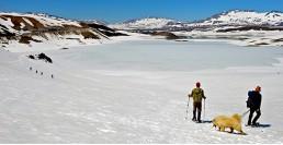 Laguna del Maule Winter Trails