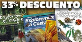 PACK EXPLOREMOS: 3 libros del medio ambiente por el precio de 2