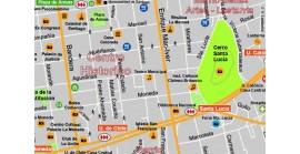 Plano-Guía Santiago de Chile